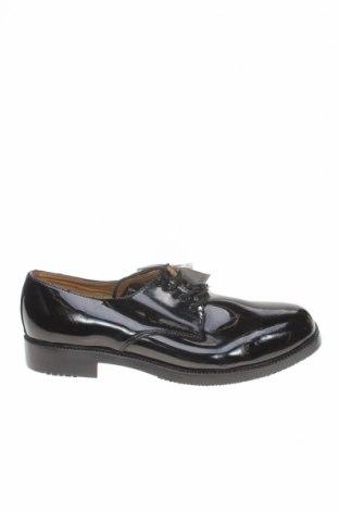 Мъжки обувки, Размер 44, Цвят Черен, Естествена кожа, Цена 25,73лв.