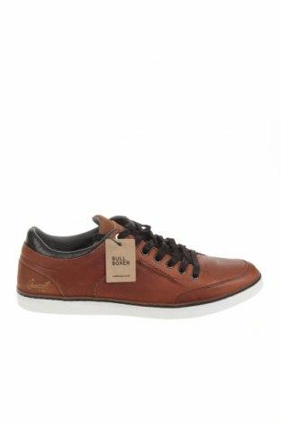 Ανδρικά παπούτσια Bullboxer, Μέγεθος 45, Χρώμα Καφέ, Γνήσιο δέρμα, Τιμή 33,96€