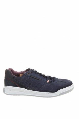 Ανδρικά παπούτσια Bullboxer, Μέγεθος 44, Χρώμα Μπλέ, Γνήσιο δέρμα, φυσικό σουέτ, κλωστοϋφαντουργικά προϊόντα, Τιμή 33,74€