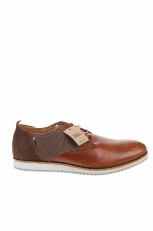 Ανδρικά παπούτσια Bullboxer, Μέγεθος 45, Χρώμα Καφέ, Γνήσιο δέρμα, κλωστοϋφαντουργικά προϊόντα, Τιμή 33,12€
