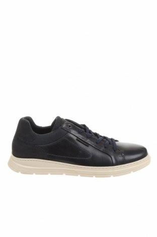 Ανδρικά παπούτσια Bullboxer, Μέγεθος 44, Χρώμα Μπλέ, Γνήσιο δέρμα, κλωστοϋφαντουργικά προϊόντα, Τιμή 33,12€