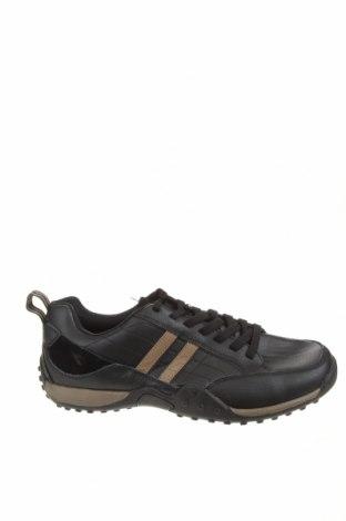Мъжки обувки Diadora, Размер 46, Цвят Черен, Естествена кожа, естествен велур, Цена 39,27лв.