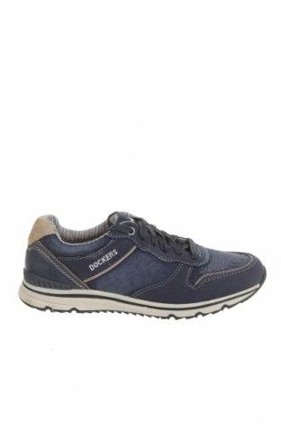 Мъжки обувки Dockers by Gerli, Размер 42, Цвят Син, Текстил, Цена 40,80лв.