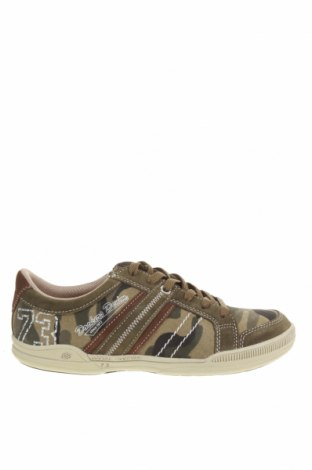 Pánské boty Dockers by Gerli, Velikost 41, Barva Zelená, Textile , Přírodní velur , Cena  630,00Kč