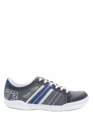 Мъжки обувки Dockers by Gerli, Размер 41, Цвят Син, Текстил, естествен велур, Цена 41,08лв.