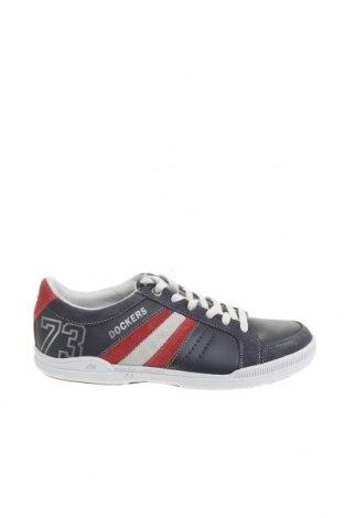Мъжки обувки Dockers by Gerli, Размер 41, Цвят Син, Еко кожа, естествен велур, Цена 44,55лв.