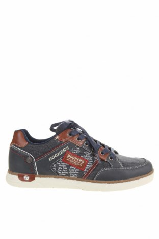 Мъжки обувки Dockers by Gerli, Размер 41, Цвят Син, Текстил, еко кожа, Цена 37,26лв.