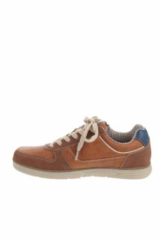 Мъжки обувки Dockers by Gerli, Размер 41, Цвят Кафяв, Еко кожа, Цена 37,92лв.