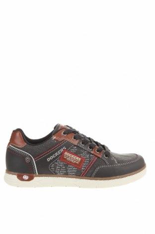 Мъжки обувки Dockers by Gerli, Размер 41, Цвят Сив, Текстил, еко кожа, Цена 37,26лв.