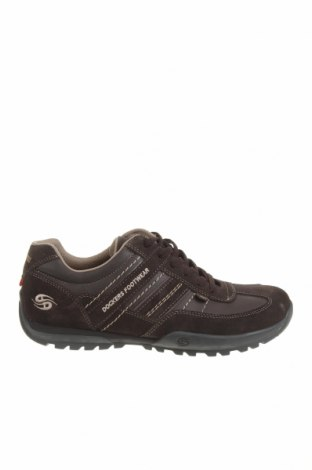 Мъжки обувки Dockers by Gerli, Размер 41, Цвят Сив, Естествен велур, еко кожа, Цена 65,45лв.