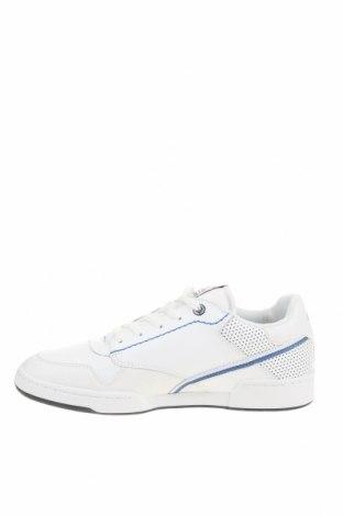 Мъжки обувки Dockers by Gerli, Размер 42, Цвят Бял, Естествена кожа, еко кожа, Цена 51,17лв.