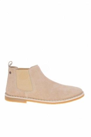 Мъжки обувки Jack & Jones, Размер 45, Цвят Бежов, Естествен велур, Цена 94,50лв.