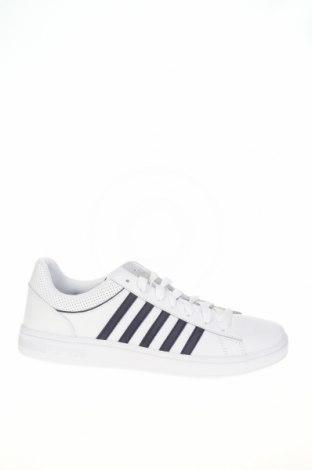 Ανδρικά παπούτσια K-Swiss, Μέγεθος 44, Χρώμα Λευκό, Δερματίνη, Τιμή 23,72€