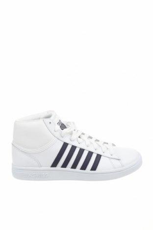 Мъжки обувки K.Swiss, Размер 42, Цвят Бял, Естествена кожа, Цена 73,50лв.