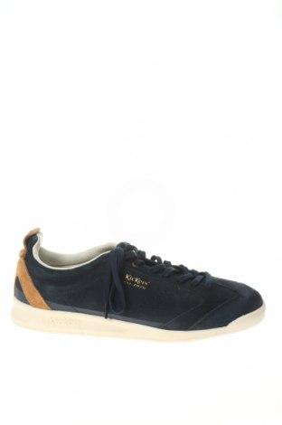 Мъжки обувки Kickers, Размер 44, Цвят Син, Естествен велур, Цена 96,75лв.
