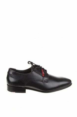 Мъжки обувки Lloyd, Размер 41, Цвят Черен, Естествена кожа, Цена 164,25лв.