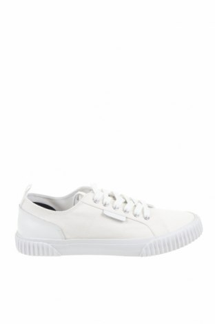 Ανδρικά παπούτσια Lyle & Scott, Μέγεθος 42, Χρώμα Λευκό, Κλωστοϋφαντουργικά προϊόντα, γνήσιο δέρμα, Τιμή 22,70€