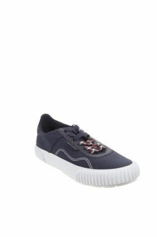 Мъжки обувки Lyle & Scott, Размер 41, Цвят Син, Текстил, естествена кожа, Цена 59,50лв.
