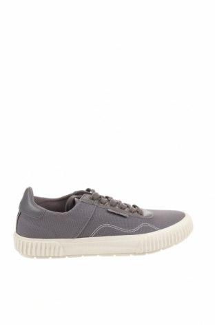Ανδρικά παπούτσια Lyle & Scott, Μέγεθος 43, Χρώμα Γκρί, Κλωστοϋφαντουργικά προϊόντα, γνήσιο δέρμα, Τιμή 27,60€