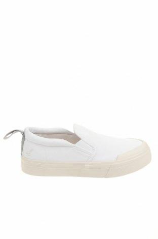 Ανδρικά παπούτσια Lyle & Scott, Μέγεθος 38, Χρώμα Λευκό, Κλωστοϋφαντουργικά προϊόντα, Τιμή 25,29€