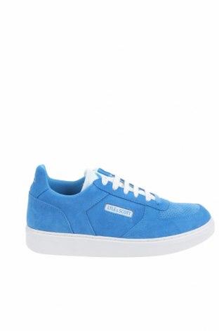 Мъжки обувки Lyle & Scott, Размер 43, Цвят Син, Естествен велур, Цена 94,50лв.