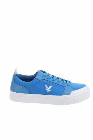 Ανδρικά παπούτσια Lyle & Scott, Μέγεθος 42, Χρώμα Μπλέ, Κλωστοϋφαντουργικά προϊόντα, γνήσιο δέρμα, Τιμή 32,24€