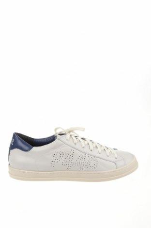 Ανδρικά παπούτσια P448, Μέγεθος 45, Χρώμα Γκρί, Γνήσιο δέρμα, Τιμή 83,27€