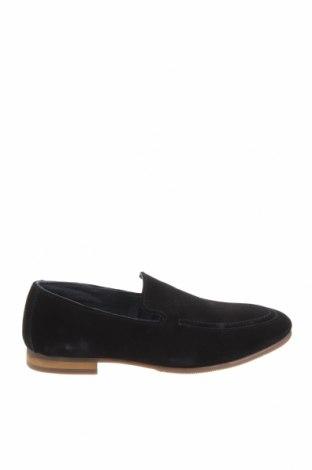 Ανδρικά παπούτσια Pier One, Μέγεθος 41, Χρώμα Μπλέ, Φυσικό σουέτ, Τιμή 36,57€