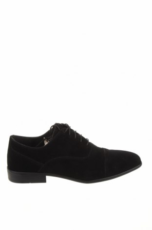 Ανδρικά παπούτσια Pier One, Μέγεθος 41, Χρώμα Μαύρο, Κλωστοϋφαντουργικά προϊόντα, Τιμή 23,62€