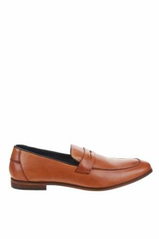 Ανδρικά παπούτσια Pier One, Μέγεθος 48, Χρώμα  Μπέζ, Γνήσιο δέρμα, Τιμή 36,57€