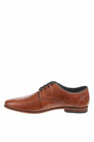 Мъжки обувки Pier One, Размер 41, Цвят Кафяв, Естествена кожа, Цена 73,67лв.