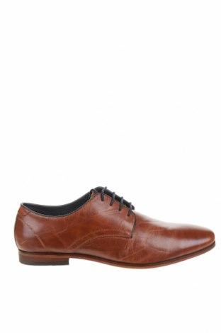 Мъжки обувки Pier One, Размер 44, Цвят Кафяв, Естествена кожа, Цена 70,95лв.