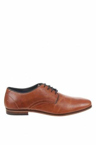 Мъжки обувки Pier One, Размер 43, Цвят Кафяв, Естествена кожа, Цена 73,67лв.