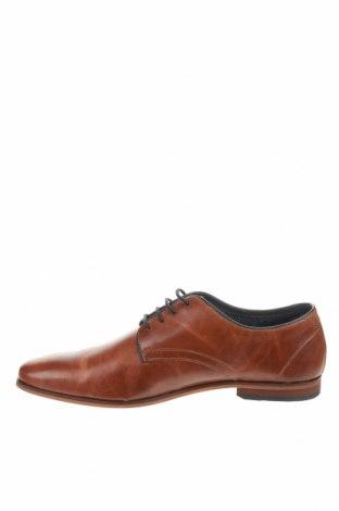 Мъжки обувки Pier One, Размер 44, Цвят Кафяв, Естествена кожа, Цена 73,67лв.