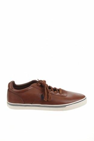 Мъжки обувки Polo By Ralph Lauren, Размер 48, Цвят Кафяв, Естествена кожа, Цена 109,50лв.