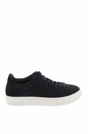 Мъжки обувки Selected Homme, Размер 45, Цвят Син, Естествен велур, Цена 57,24лв.