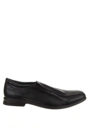Мъжки обувки Target, Размер 44, Цвят Черен, Естествена кожа, Цена 26,46лв.