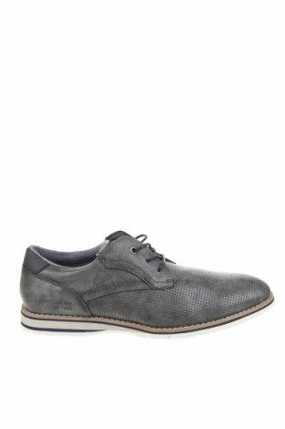 Мъжки обувки Tom Tailor, Размер 45, Цвят Сив, Еко кожа, Цена 31,15лв.