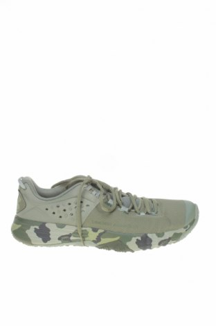 Ανδρικά παπούτσια Under Armour, Μέγεθος 42, Χρώμα Πράσινο, Κλωστοϋφαντουργικά προϊόντα, δερματίνη, Τιμή 32,08€