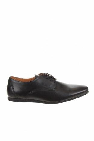 Мъжки обувки Zign, Размер 45, Цвят Черен, Естествена кожа, Цена 53,55лв.