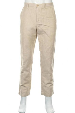 Ανδρικό παντελόνι Banana Republic, Μέγεθος M, Χρώμα  Μπέζ, 55% λινό, 45% βαμβάκι, Τιμή 16,46€