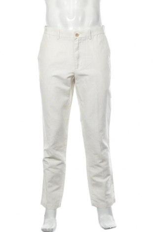 Ανδρικό παντελόνι Banana Republic, Μέγεθος M, Χρώμα Εκρού, 55% λινό, 45% βαμβάκι, Τιμή 20,27€
