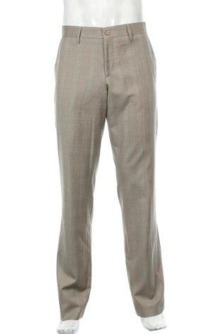 Мъжки панталон Bruuns Bazaar, Размер L, Цвят Бежов, Вълна, Цена 13,86лв.