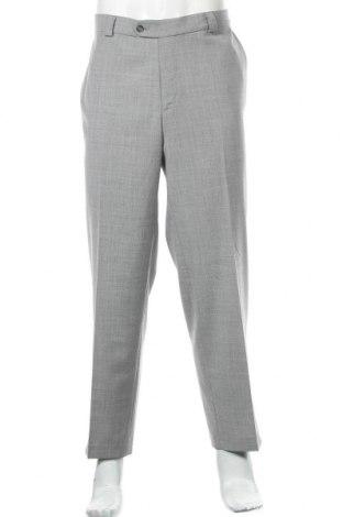 Мъжки панталон Canda, Размер XL, Цвят Сив, 54% полиестер, 44% вълна, 2% еластан, Цена 7,88лв.
