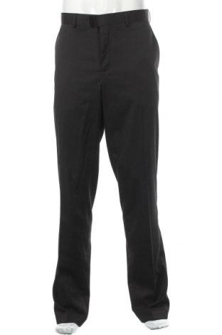 Мъжки панталон Class International, Размер L, Цвят Черен, 83% полиестер, 15% еластан, 2% еластан, Цена 26,88лв.