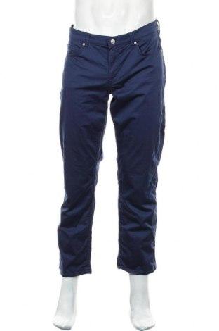 Ανδρικό παντελόνι Gant, Μέγεθος L, Χρώμα Μπλέ, 98% βαμβάκι, 2% ελαστάνη, Τιμή 23,45€