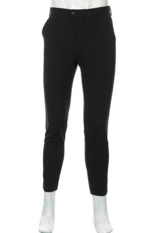 Мъжки панталон Lindbergh, Размер M, Цвят Черен, 65% полиестер, 31% вискоза, 4% еластан, Цена 66,75лв.