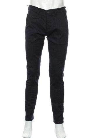 Мъжки панталон Liu Jo, Размер S, Цвят Син, 97% памук, 3% еластан, Цена 31,68лв.