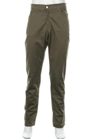 Мъжки панталон Liu Jo, Размер XL, Цвят Зелен, 98% памук, 2% еластан, Цена 33,82лв.