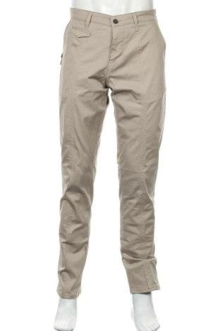 Pantaloni de bărbați Liu Jo, Mărime L, Culoare Bej, 97% bumbac, 3% elastan, Preț 86,84 Lei